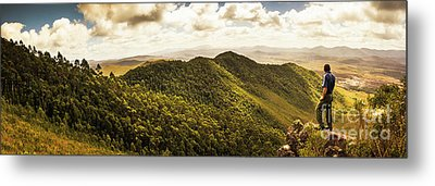 View From Halfway Up Mount Zeehan Metal Print by Jorgo Photography - Wall Art Gallery