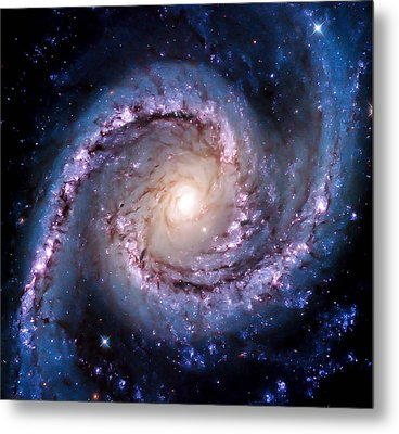 View From Hubble Metal Print