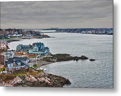 View From Marblehead Lighthouse Metal Print by Jeff Folger