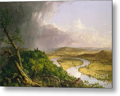 View From Mount Holyoke, Northampton, Massachusetts, After A Thunderstorm The Oxbow, 1836 Metal Print
