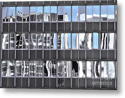 Metal Print featuring the photograph View From My Window by Stephen Mitchell