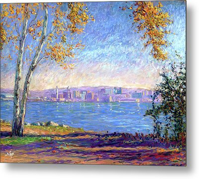 View From Presque Isle Metal Print by Michael Camp