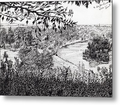 View From Richmond Hill Metal Print