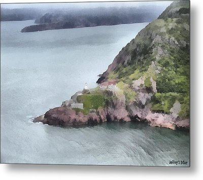 View From Signal Hill Metal Print by Jeff Kolker