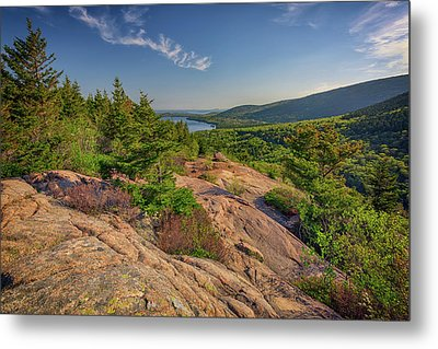 View From South Bubble Metal Print by Rick Berk
