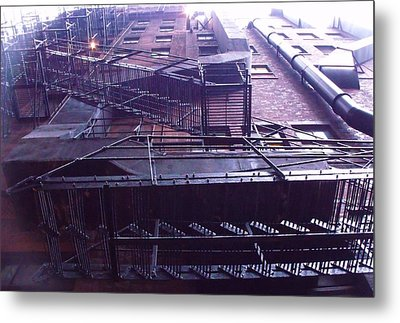 View From The Alley Metal Print by Anna Villarreal Garbis
