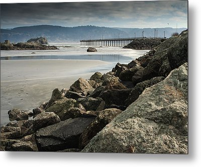 View From The Beach Metal Print by Betty Depee