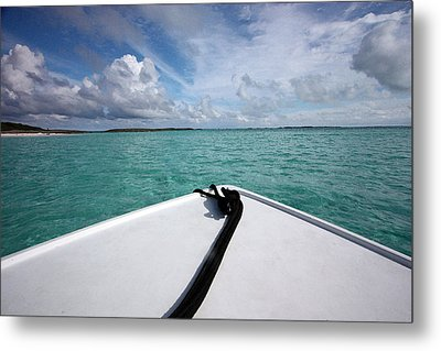 View From The Bow Metal Print