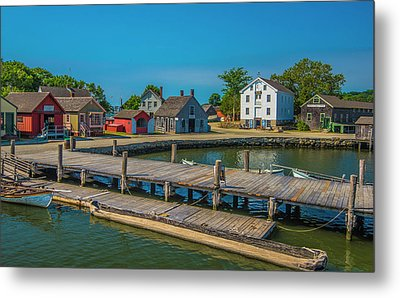 View From The Dock Metal Print by Steven Ainsworth