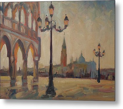 View From The Doge Palace Metal Print