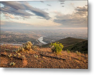 View From The Hill Metal Print by Brad Stinson