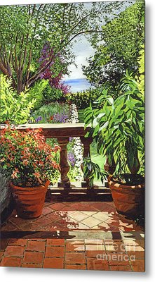 View From The Royal Garden Metal Print by David Lloyd Glover