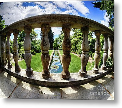 View From The Summer Garden Metal Print by Mark Miller