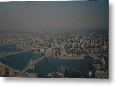 View From The  W T C  Metal Print by Rob Hans