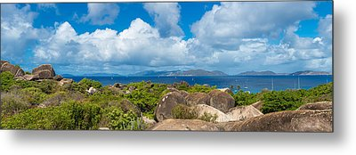 View From Top Of The Baths On Virgin Metal Print