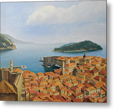 View From Top Of The World Metal Print by Kiril Stanchev