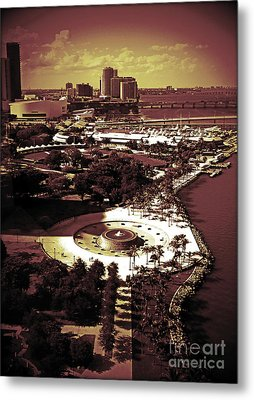 View From The 23rd Floor Metal Print