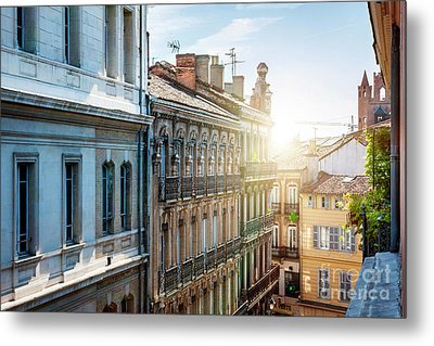 View In Toulouse Metal Print