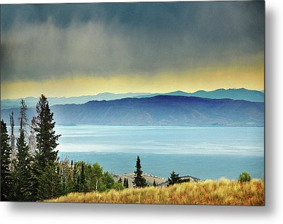 View Of Bear Lake Metal Print by Utah-based Photographer Ryan Houston
