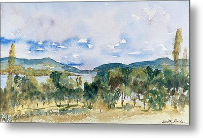View Of D'entrecasteaux Channel From Birchs Bay, Tasmania Metal Print
