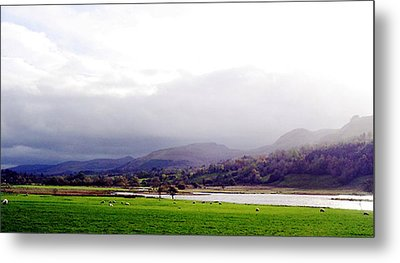 View Of Glencar Metal Print by Amy Williams