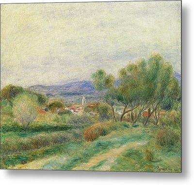 View Of La Seyne Metal Print by Pierre Auguste Renoir