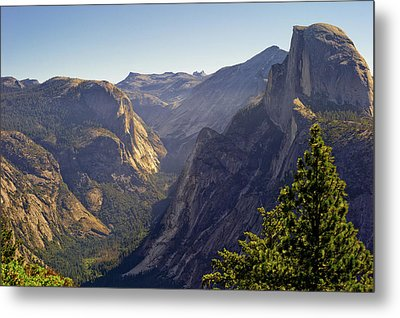 View Of Tenaya Canyon Metal Print