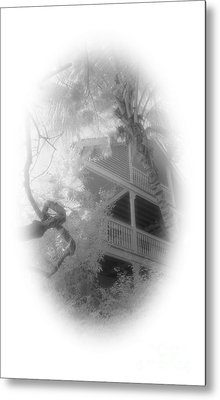 View Of The Balcony  Metal Print by Richard Rizzo