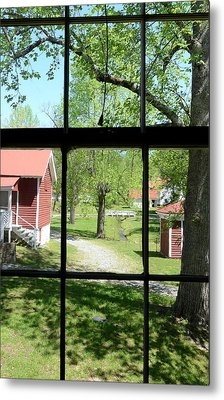 View Of The Past Metal Print by Susan Leggett