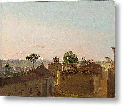 View On The Quirinal Hill. Rome Metal Print by Simon Denis