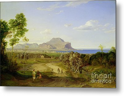 View Over Palermo Metal Print by Carl Rottmann