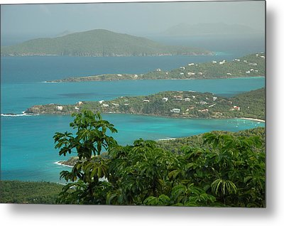 Metal Print featuring the photograph View Paradise by Lori Mellen-Pagliaro