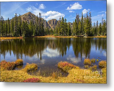 Metal Print featuring the photograph View Towards Notch Mountain by Spencer Baugh
