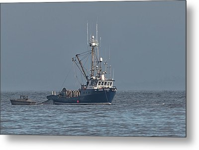 Metal Print featuring the photograph Viking Fisher 1 by Randy Hall