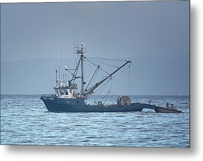 Metal Print featuring the photograph Viking Fisher 3 by Randy Hall