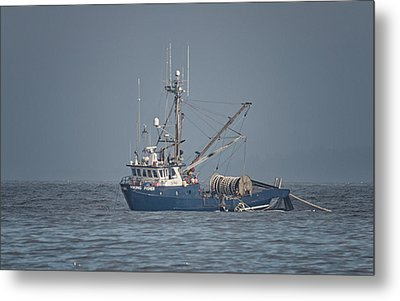 Metal Print featuring the photograph Viking Fisher 4 by Randy Hall