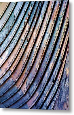 Viking Longship Bow Metal Print by Gareth Davies