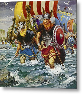Vikings Metal Print by Jack Keay
