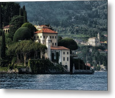 Villa Del Balbianello Metal Print by Jim Hill