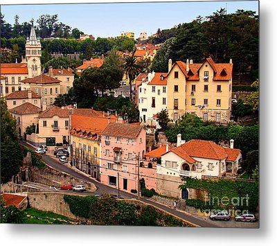 Metal Print featuring the photograph Village Of Sintra by Sue Melvin