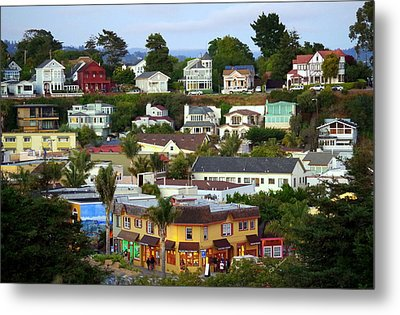 Village View  Sig Metal Print