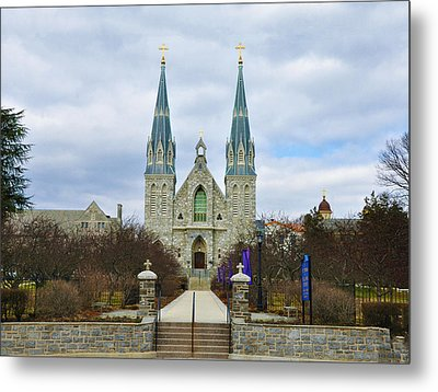 Villanova College Metal Print by Bill Cannon