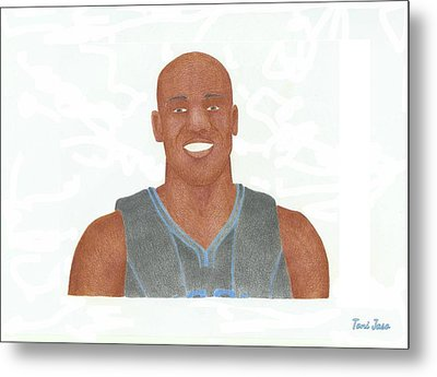 Vince Carter Metal Print by Toni Jaso