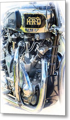 Vincent Rapide Metal Print by Tim Gainey