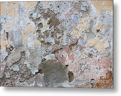 Vintage Abstract II Metal Print