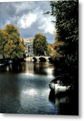 Metal Print featuring the photograph Vintage Amsterdam by Jim Hill