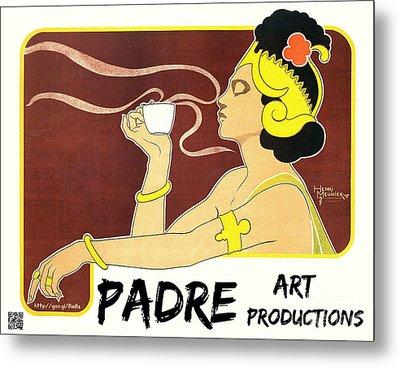 Vintage Art Promo 2015 Metal Print by Padre Art
