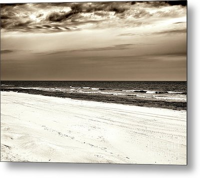Metal Print featuring the photograph Vintage Beach Haven by John Rizzuto