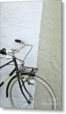 Vintage Bicycle Metal Print by Carlos Caetano
