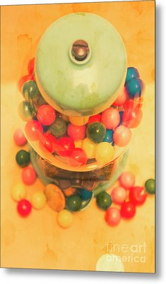 Vintage Candy Machine Metal Print by Jorgo Photography - Wall Art Gallery